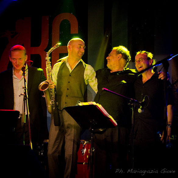Very nice pic from Mariagrazia Giove shot at the Belgrade Jazzfestival 2012